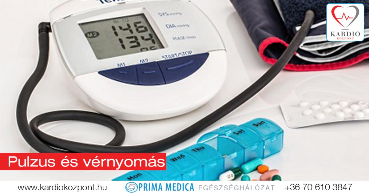 hogyan lehet csökkenteni a pulzust magas vérnyomás esetén