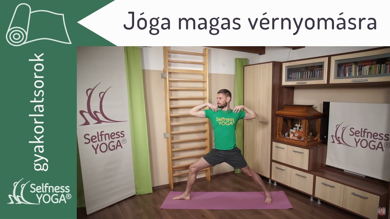 Magas vérnyomás ellen jóga