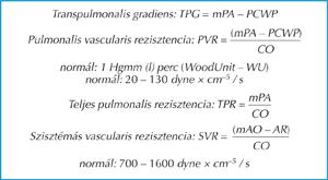 pulmonalis hipertóniával