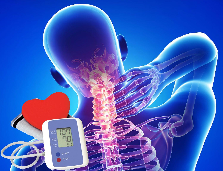 osteochondrosis és hipertónia súlyosságú magas vérnyomás