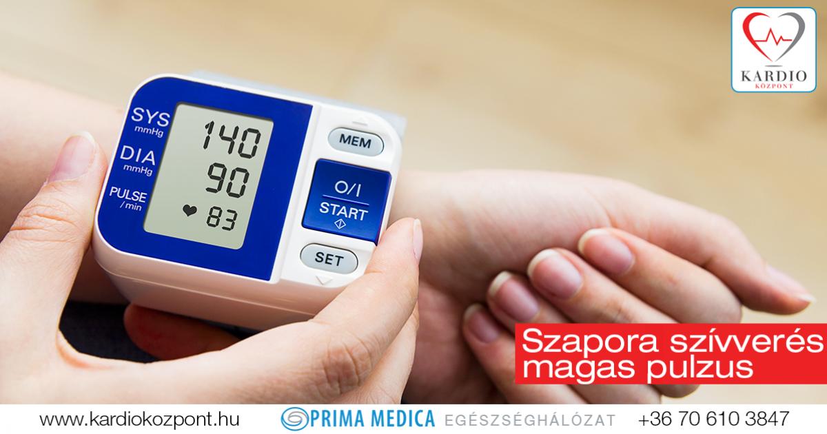 magas vérnyomás és magas pulzusú kezelés