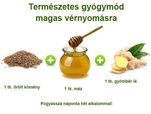 magas vérnyomás természetes gyógyszerek