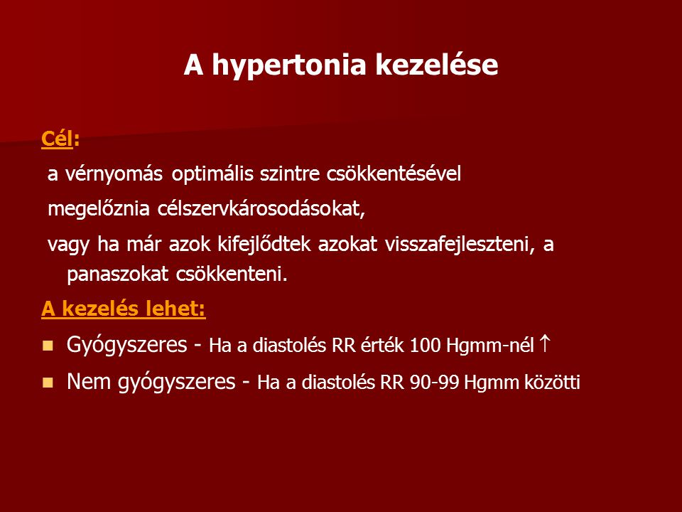 magas vérnyomás betegség és diabetes mellitus kórtörténet