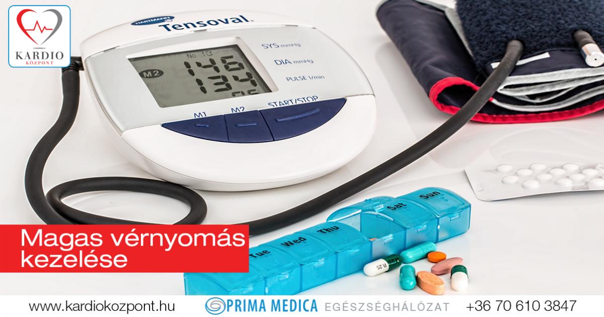 a magas vérnyomás oka a betegség kezelésében