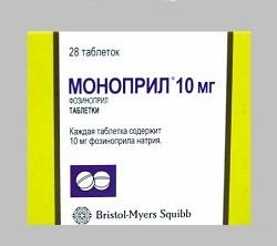 MONOPRIL 20 mg tabletta (28x) adatlap