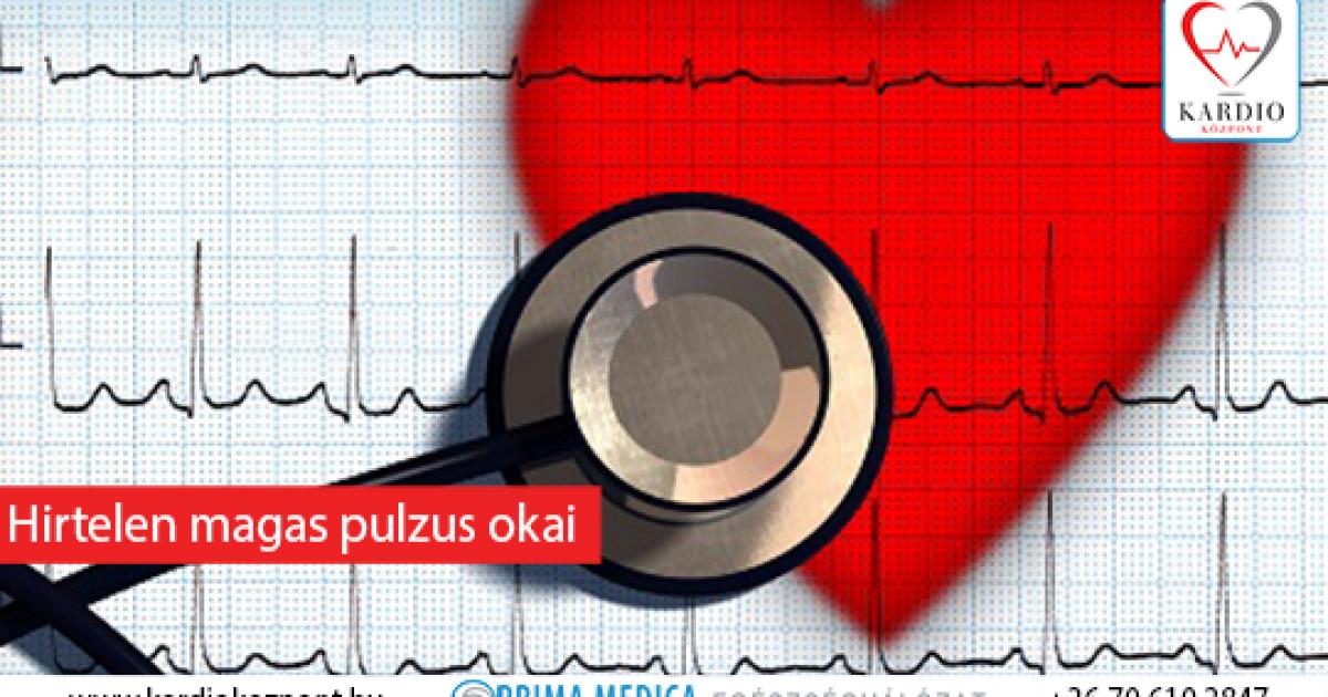 gyakori szívverés magas vérnyomással a magas vérnyomás diszperziós vizsgálata
