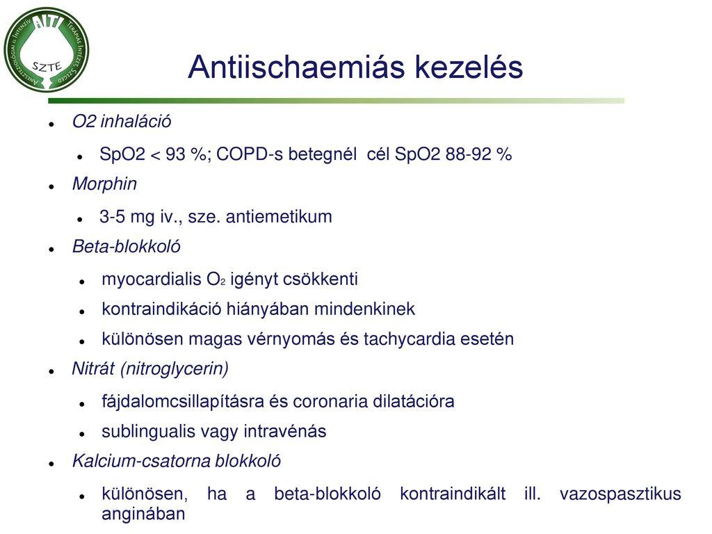Angina pectoris tünetei és kezelése