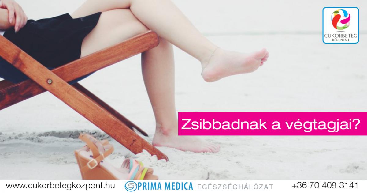 a karok és a lábak zsibbadása magas vérnyomás esetén