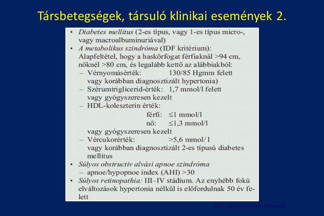 a magas vérnyomás klinikai irányelvei