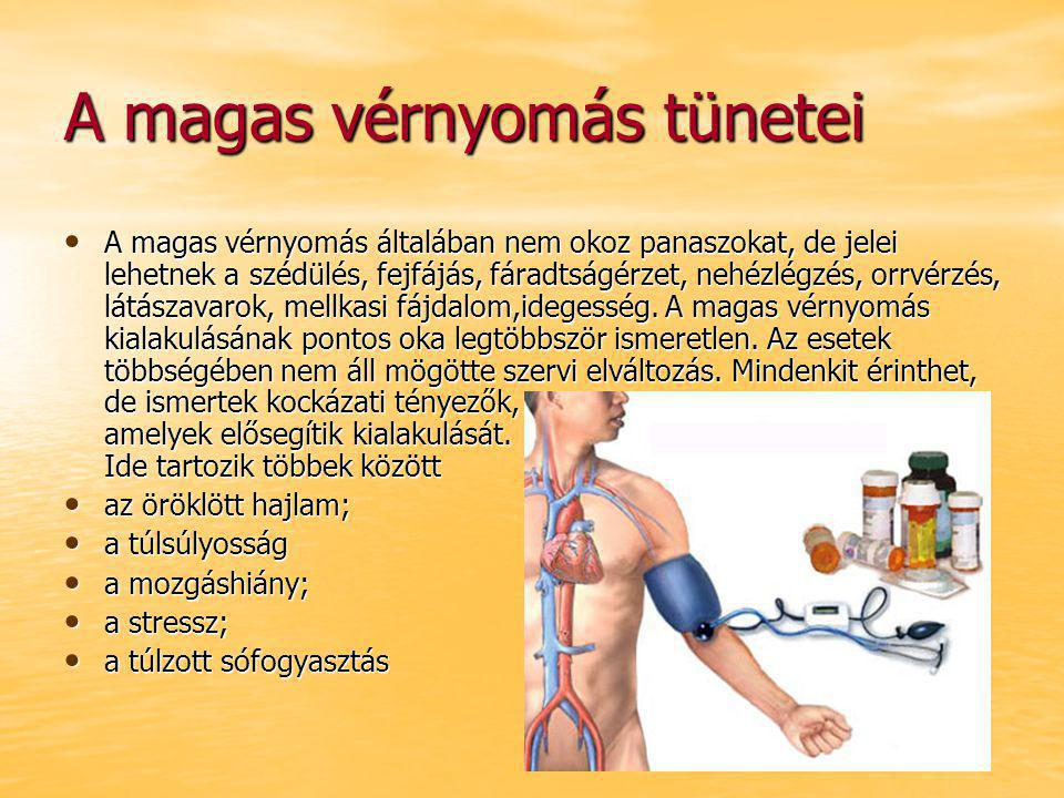 a magas vérnyomás oka és a magas vérnyomás kezelése